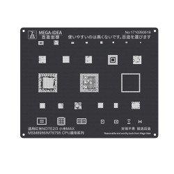 Qianli 0.12MM Black Stencil MSM8956/MT6795 CPU for Redmi NOTE2/3,MI MAX ( QL 12 )