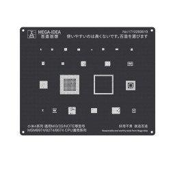 Qianli 0.12MM Black Stencil MSM8974/MSM8274/MSM8674 CPU for MI4 Series,MI3/3S/NOTE ( QL 13 )