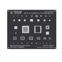 Qianli 0.12MM Black Stencil MSM8996 CPU for XIAOMI 5/5S/5sPlus/Note2/MIX ( QL 15 )