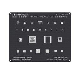 Qianli 0.12MM Black Stencil MSM8998 CPU for MI6 Series,MIX2 ( QL 16 )