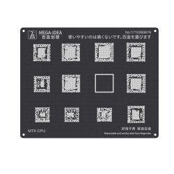 Qianli 0.12MM Black Stencil MTK CPU ( QL 18 )