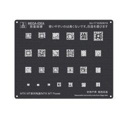 Qianli 0.12MM Black Stencil MTK MT Power IC ( QL 19 )