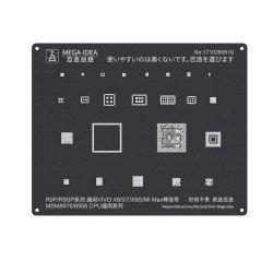 Qianli 0.12MM Black Stencil MSM8976/MSM8956 CPU for R9P/R9SP VIVO X6/X7/X9S/MI MAX ( QL 02 )