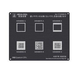 Qianli 0.12MM Black Stencil Qualcom CPU MSM8992 A B MSM8976 A B MDM8996 A B ( QL 21 )