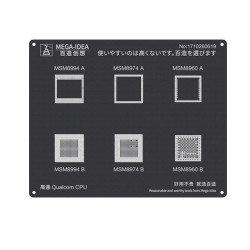 Qianli 0.12MM Qualcomm CPU MSM8994 A B MSM8974 A B MSM8960 A B ( QL 24)