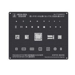 Qianli 0.12MM Black Stencil MT6755V/MT6750V CPU for R9/A59/A37/Y67,Noblue 5/3/3S/6 ( QL 03 )