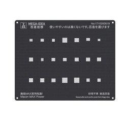 Qianli 0.12MM Black Stencil Maxim MAX Power ( QL 08 )