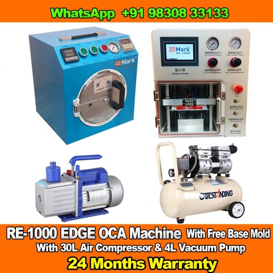 RE-1000 EDGE OCA Laminator And Bubble Remover Machine With 2 Years Warranty