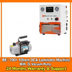 G2Mark RE-700+ EDGE / FLAT Screen OCA Lamination Machine With 2 Litter Vacuum Pump