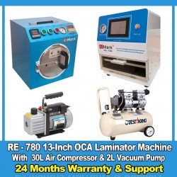 G2Mark RE-780 13-Inch Flat Screen OCA Lamination Machine Full Set