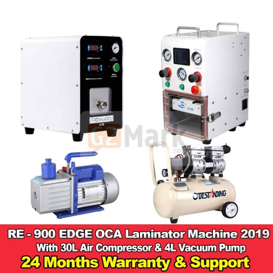 RE-900 EDGE OCA Laminator And Bubble Remover Machine