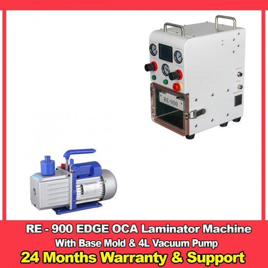 RE-900 EDGE / Flat OCA Laminator With Vacuum Pump