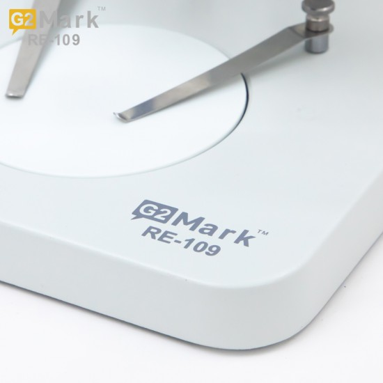 G2Mark RE-109 7X-45X Trinocular Stereo Microscope With Camera Option With UV Light & Adjustable LED Light Exclusive Quality