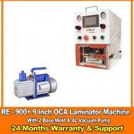 G2Mark RE-900+ EDGE / FLAT Screen OCA Machine laminator With (2 Free Base Mold )& 4L Vaccum Pump