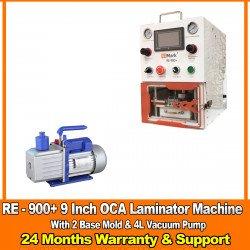 G2Mark RE-900+ EDGE / FLAT Screen OCA Machine laminator With (2 Free Base Mold ) & 4L Vaccum Pump