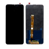 LCD with Touch Screen for Realme C15 - Black