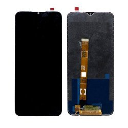 LCD with Touch Screen for Realme C11 - Black