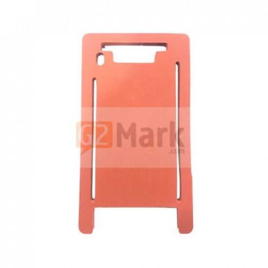 Laminating Red Mat Mold for Glass lens with frame For iPhone 7