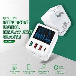 RELIFE RL-312 Smart Digital Display Fast charge