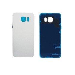 Back Panel Cover For Samsung S6 Edge - White