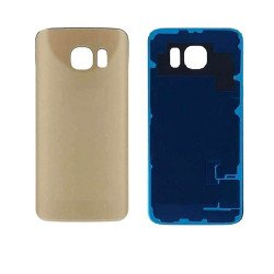 Back Panel Cover For Samsung S6 Edge - Gold