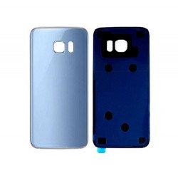 Back Panel Cover For Samsung S7 Edge - Sky Blue