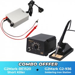 G2Mark RE-1520 Short Killer With G2-936 Soldering Iron - Combo Offer