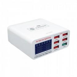 Sunshine SS-304Q 6 Port USB Smart Lightning Charger
