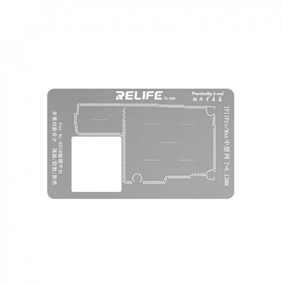 0.12MM Middle Layer Stencil Plate For iPhone 11 Pro / 11 Pro Max