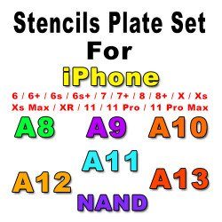 7 Pcs 0.12MM Relife Stencils Set For iPhone
