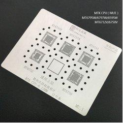 0.12MM Stencils Plates For MTK CPU (MU1)