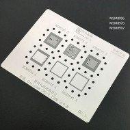 0.12MM Stencils Plates For Qualcomm CPU (QU1)