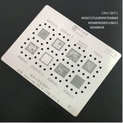 0.12MM Stencils Plates For Qualcomm CPU (QU3)