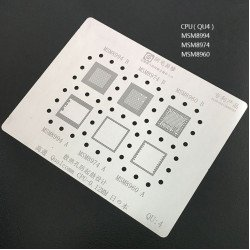 0.12MM Stencils Plates For Qualcomm CPU (QU4)