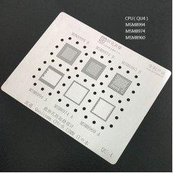 0.12MM Stencils Plates For Qualcomm CPU (QU4)