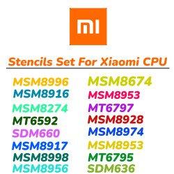 0.12MM Relife Stencils Set For MI Phones ( 8 Pcs )