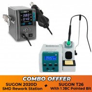 SUGON 2020D SMD Rework Station With SUGON T26 Iron Station - Combo Offer