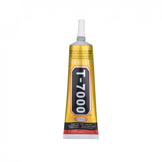 T-7000 Water Proof Magic Adhesives Glue For Electronic Component ( 50ML ) Black Glue