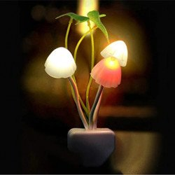 TROOPS Mushroom Colour Changing LED Night Lamp
