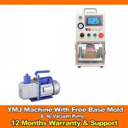 YMJ OCA Laminator Machine With Free Base Mold & Vacuum Pump 4L